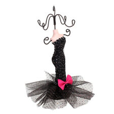 Mermaid Dress Earring Necklace Jewelry Mannequin Holder Stand Show Rack Retail