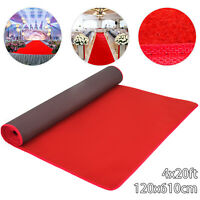 4x20ft Red Carpet Aisle Runner Hollywood Aisle Celebrity Party Decoration