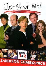 Just Shoot Me - Seasons 1 & 2 (DVD, 2014, 3-Disc Set) FREE SHIP!