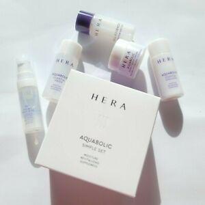 HERA aquabolic Set Kit 5 Items sample travel kit korea cosmetics