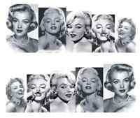 Nail Art Sticker Water Decals Transfer Stickers Retro Marilyn Monroe (A-798)