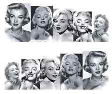 Nail Art de transferencia de agua Pegatina Adhesivos Calcomanías Retro Marilyn Monroe (A-798)