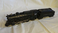Lionel Postwar 2025 2-6-2 Prairie Type Steam Locomotive & 2046w Tender