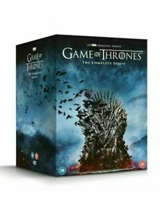 New Game Of Thrones - Complete Seasons 1-8 DVD Film Collection Boxset - Region 2