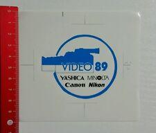 Aufkleber/Sticker: Video 89 - Yashica - Canon - Minolta - Nikon (300416192)