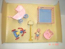 1950's Renwal Dollhouse Nursery Furniture New in Original Box