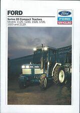 Farm Tractor Brochure - Ford - 1120 et al - Series 20 Compact  (F5388)
