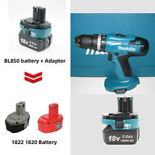 Charger Adapter Replace Set for Makita 18V Bl18 Li-ion Battery to18V Ni-Cd Ni-Mh