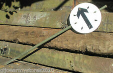 British Army Traffic Route Marker Circle Direction Arrow Sign Cycling Hiking MOD