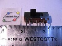 Slide Switch 3 Position Right Angle PCB Mount Low Voltage 166B2299-1 - NOS Qty 1
