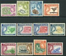 More details for pitcairn islands-1957-63 set to 2/6 sg 16-28 lightly mounted mint v34499