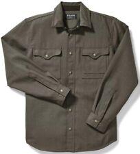 Filson Forestry Cloth Jac Shirt Field Green 100% Wool, Men's XS NWT MSRP $250