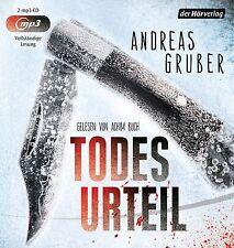 Andreas Gruber - Todesurteil (2 mp3-CDs | Hörbuch)