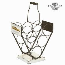 Botellero triangular - Colección Art & metal by Bravissima Kitchen