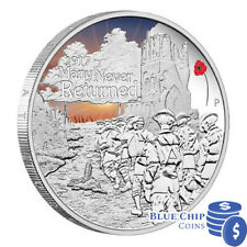 2017 $1 THE ANZAC SPIRIT 100th ANNIVERSARY 1oz SILVER PROOF COIN