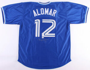 Roberto Alomar Signed Toronto Blue Jays Jersey (JSA COA) 12×All-Star(1990–2001)