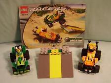 LEGO 4594 Racers Drome Maverick Sprinter & Hot Arrow - 100% Complete w/Instr