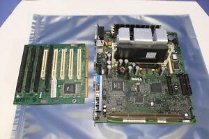 Dell 0007803C-12411 Motherboard W/ Intel Pentium III and 128MB Ram - Riser Card