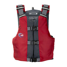 MTI APF Universal Fit PFD Life Vest fits 30 - 56 inch chest - Red