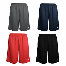 Reebok Men's Athletic Gym Basketball Training Drawstring Two-Tone Shorts