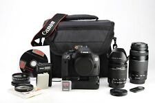 Canon EOS 700D DSLR Camera Dual Lens Kit & Grip 18-55mm IS STM & EF 75-300mm III