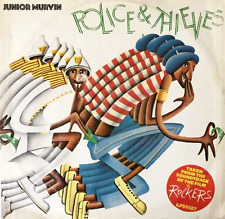 "JUNIOR MURVIN -  Police And Thieves (12"") (G++/G+)"