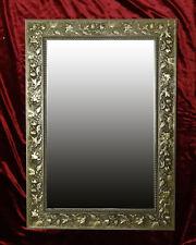 Espejo de Marco Pared Verona Oro Antiguo 70x50 cm Kristall-Form Dekorspiegel