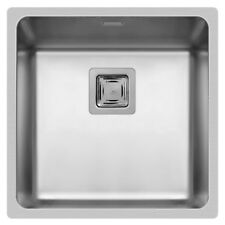 Pyramis Edelstahlspüle Küchen Spüle Unterbauspüle Spülbecken Edelstahl 40 x 40