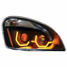 Blackout Freightliner Cascadia Projection Headlight w/ Dual LED Light -Passenger