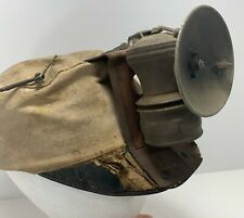 Antique Vintage COAL KING CAP Coal Miner's Mining Hat Autolite Headlamp Light