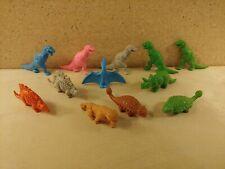 Diener Plastic Figure Lot Dinosaurs Prehistoric Animals T-Rex Saber-Tooth Tiger