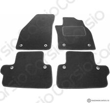Perfect Fit Black Carpet Car Floor Mats for Volvo C70 06-13 Manual with Heel pad