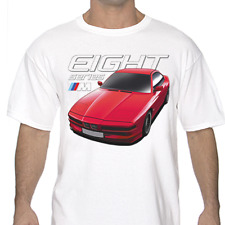 BMW 8 Series E31 White or Gray T-Shirts S to 3XL 840 850