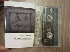 "DEAD CAN DANCE '94 canadian 4AD cassette ""TOWARD THE WITHIN"" tested TAPE EXC."
