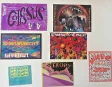 Vintage RAVE Flyers COLOSSUS, ENTRORY, SHAMANARCHY, STASERA, BELIEVE  (LOT 171)