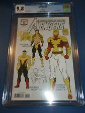 Avengers #40 Design Variant CGC 9.8 NM/M Gorgeous Gem Phoenix Wow