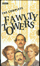 FAWLTY TOWERS - The Complete VHS 4-Tape Set, Box Set) BBC