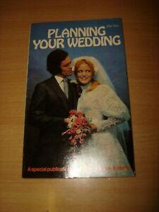 VINTAGE 1971 PLANNING YOUR WEDDING PUBLISHED 1971