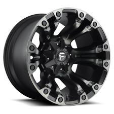(4) 20X9 Fuel Black W/ DDT Vapor Wheels 8x170 For 2003-2019 Ford F-250 F-350