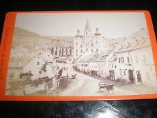 Cdv old photograph Grazergasse Mariazell Austria by Nicolaus kuss c1880s