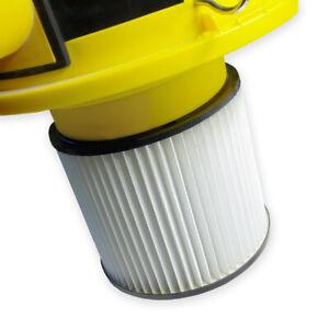 Filter Lamellenfilter Nass und Trocken passend für Parkside Staubsauger von Lidl
