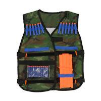 Outdoor Tactical Adjustable Vest Kit For Nerf N-strike Elite Games Hunting Vest