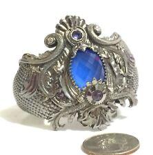 $1,995 Stephen Webster sz S Haze Jewels Verne Rhodium Silver Cuff Bracelet Women