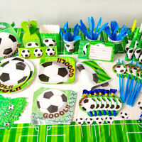 Football Theme Party Tableware Birthday Supplies  World Cup Football Plates Cup