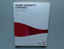 Adobe Acrobat 9 Standard brand new retail Windows 22002418 genuine sealed