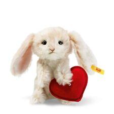 Steiff 033506 Rabbit with Heart 5 1/2in