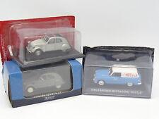 Ixo Presse 1/43 - Lot de 3 : Simca Aronde Nestlé - Citroen 2CV 1949 et AZ