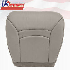 2000-2001-2002 FORD E150 ECONOLINE VAN DRIVER BOTTOM SEAT COVER GRAY LEATHERETTE