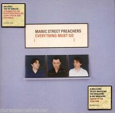 MANIC STREET PREACHERS - Everything Must Go (UK 12 Tk CD Album)