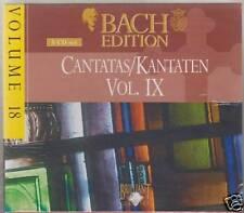 BACH EDITION BRILLIANT CANTATE VOL 9 - 5 CD
